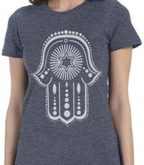 Urban Hamsa T-Shirt by PunkTorah - ModernTribe - 1