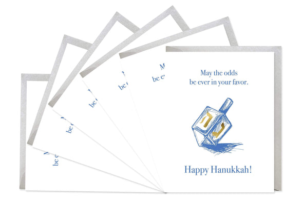 Odds Ever In Your Favor Hanukkah Cards - Boxed Set of 6