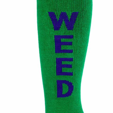 Weed Knee High Socks Gumball Poodle by Gumball Poodle - ModernTribe