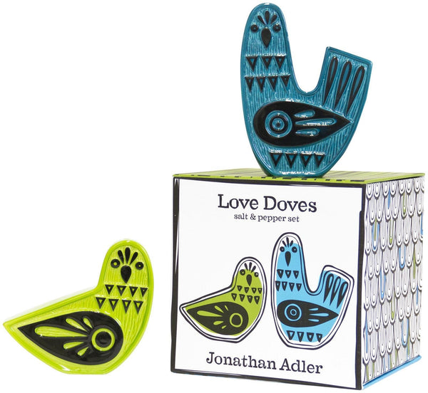 Jonathan Adler Salt & Pepper Shakers Default Love Doves Salt & Pepper Shakers by Jonathan Adler