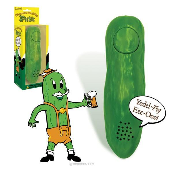 Accoutrements Toy yodeling pickle