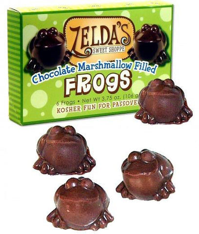 Passover Chocolate Frogs by Zelda's - ModernTribe