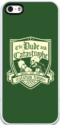 Dude & Catastrophe - iPhone 5 Case
