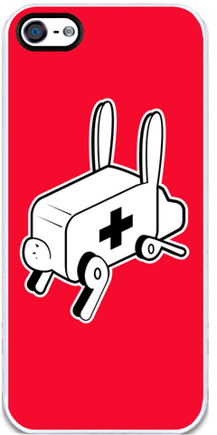 Rabbit Ambulance - iPhone 5 Case