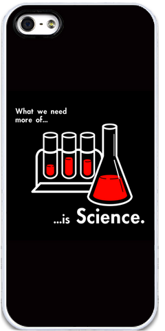 We Need More Science (Alt) iPhone 5 Case