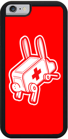 Rabbit Ambulance iPhone 6 Case