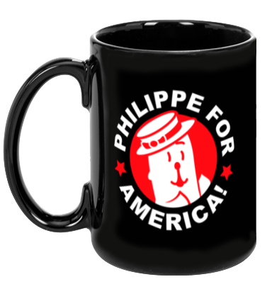 Philippe For America Mug
