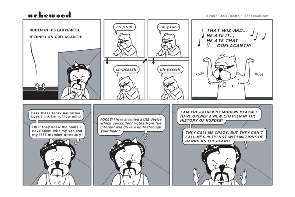 Comic - The Wizard... Coelacanth (01/11/2007)