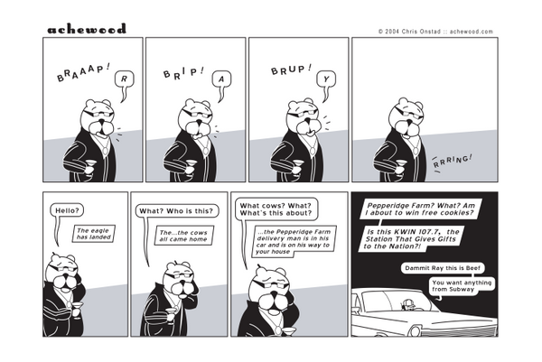 Comic - The Pepperidge Farm Man (01/15/2004)