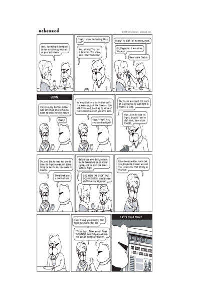 Comic - THE GREAT OUTDOOR FIGHT (01/25/2006)