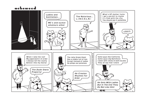 Comic - Notorious L.I.N.C.O.L.N. (01/27/2003)