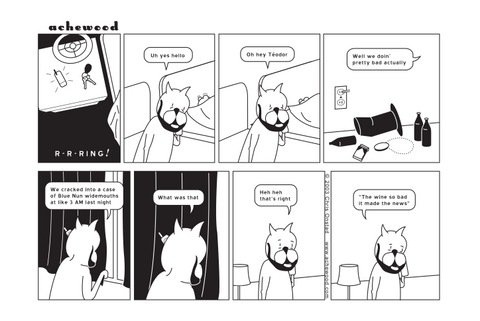 Comic - Blue Nun Widemouths (01/29/2003)