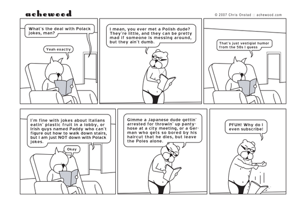 Comic - Polack Magazine (02/06/2007)