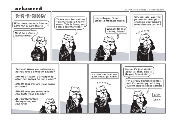 Comic - Raymo Smookels (02/24/2004)