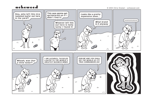 Comic - Lazarus the Business Loafer (03/03/2004)