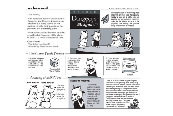 Comic - Dungeons and Dragons Explaine (03/06/2008)