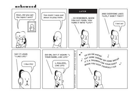 Comic - Tapes from Philippe's Mom (04/19/2002)