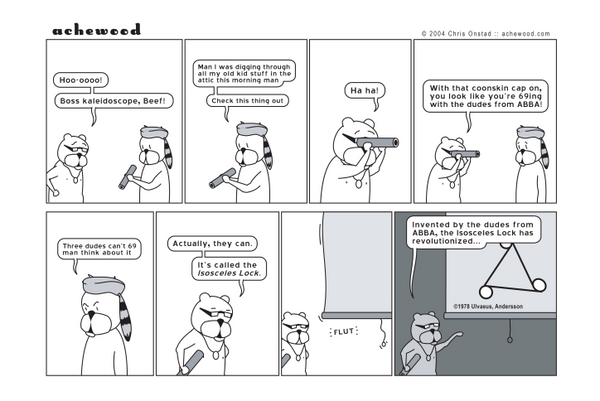 Comic - The Isosceles Lock (05/03/2004)