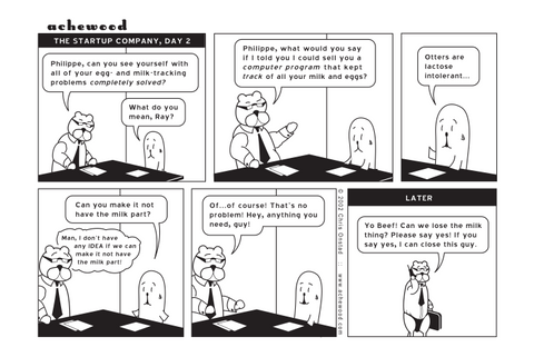Comic - The Startup Company: Day II (05/09/2002)