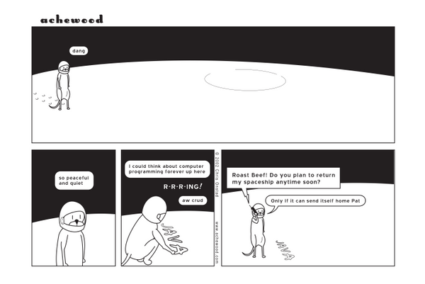 Comic - Roast Beef on the Moon - (06/25/2002)