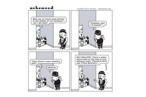 Comic - Bowling With Philippe - (06/27/2005)