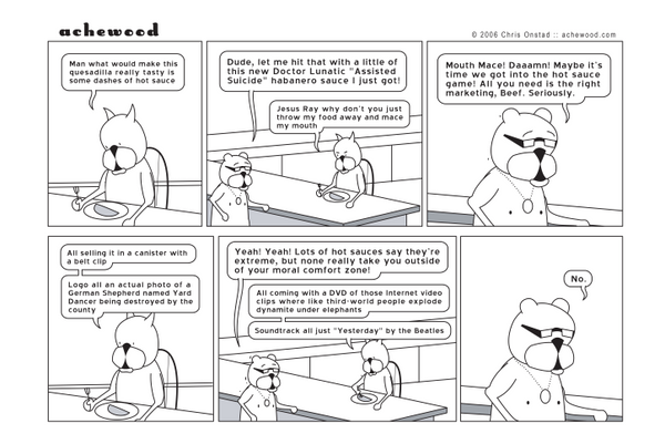 Comic - Morally... Hot Sauce - (07/07/2006)