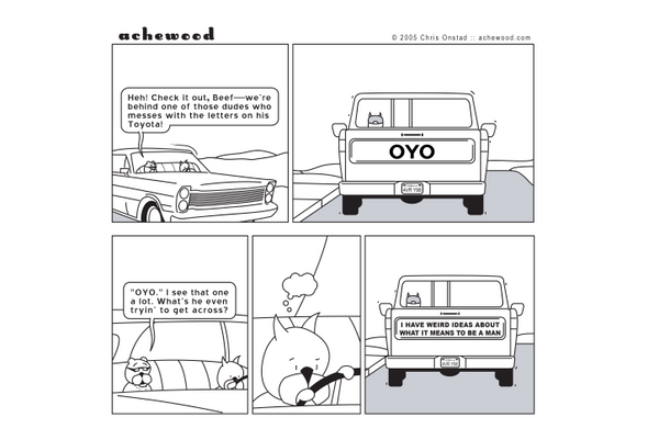 Comic - The Toyota Tailgate Phenomenon(07/12/2005)