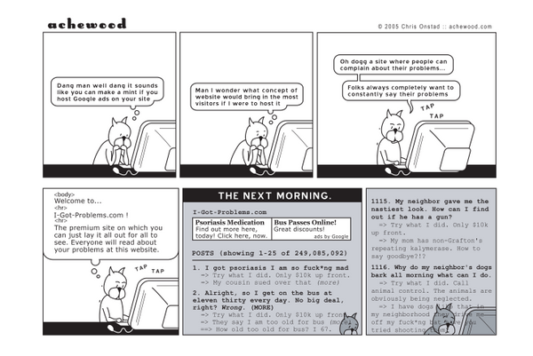 Comic - Roast Beef's I Got Problems.. (07/18/2005)