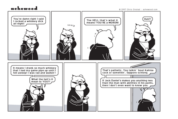 Comic - Whiskey Dick, Examined (07/25/2007)