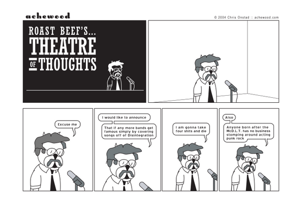 Comic - Theatre of Thoughts (08/23/2004)