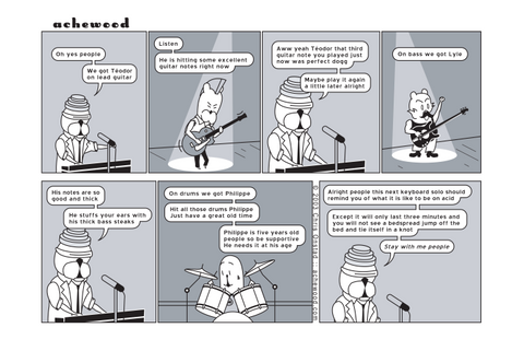 Comic - Animalicious on Acid (10/08/2003)