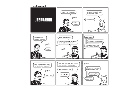 Comic - Jeopardy! (10/21/2002)