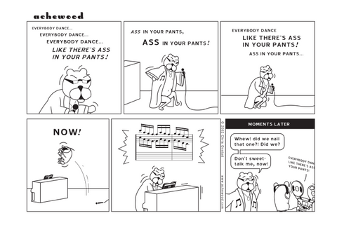 Comic - Ass in your Pants - (11/18/2002)