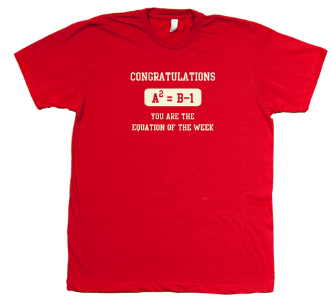 The Equation of the Week T-Shirt