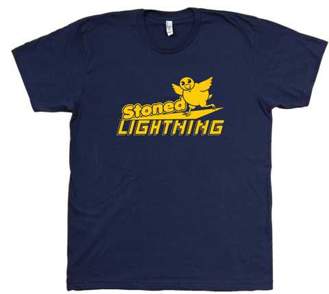 Stoned Lightning T Shirt