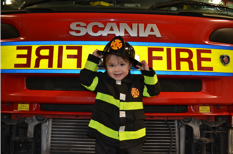 My Daughter the Firefighter