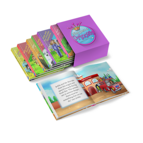 The 'Not Just a Princess'  Box Set (Ages 3-8)
