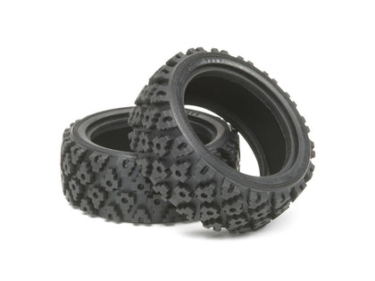 Tamiya Rally Block Tires (1 Pair) Item No: 50476