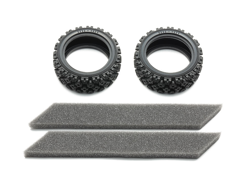 Tamiya Rally Block Tires (Soft/2pcs.) Item No: 54861 - Hobby Circuit