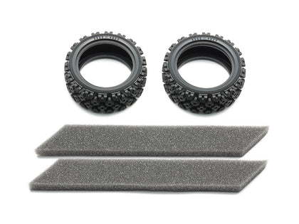 Tamiya Rally Block Tires (Soft/2pcs.) Item No: 54861