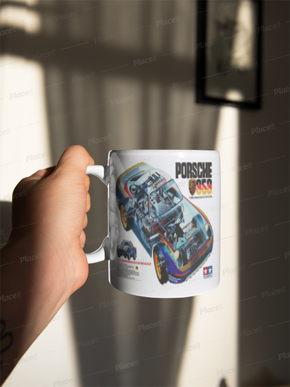 Tamiya 959 box art mug