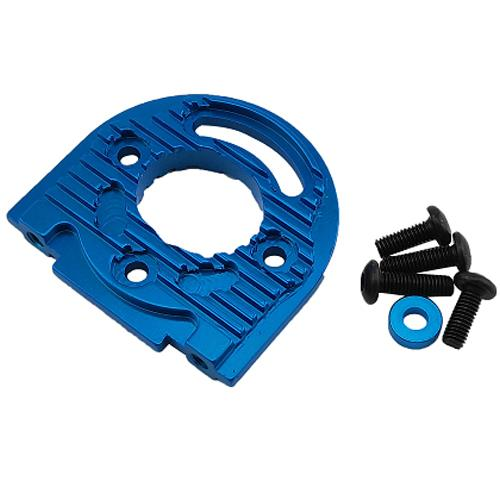 Hobby circuit  Aluminum Adjustable Motor Mount - Blue For TT02 TT02B #TT02-013BU