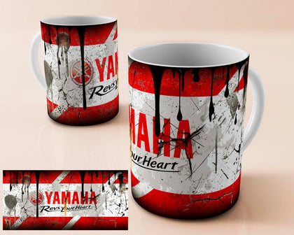 yamaha  vintage oil can mug