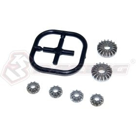 3RACING Sakura FF Metal Differential Gear Set (10T&18T) - SAK-F79/V2  [SAK-F79/V2]