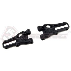 3Racing Sakura M4 Pro Graphite Composite Front Suspension Arm - SAK-M4P02G  [SAK-M4P02G] - Hobby Circuit