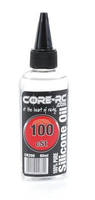 CORE RC SILICONE OIL - 100CST - 60ML CR200