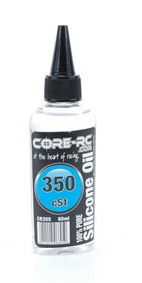 CORE RC SILICONE OIL - 350CST - 60ML CR205