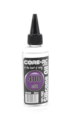 CORE RC SILICONE OIL - 400CST - 60ML CR206