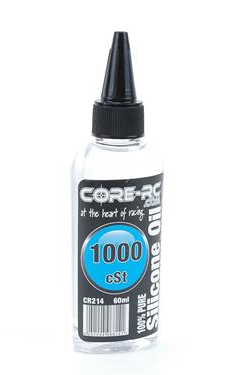 CORE RC SILICONE OIL - 1000CST - 60ML CR214