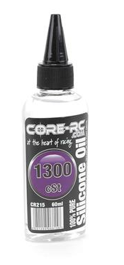 CORE RC SILICONE OIL - 1300CST - 60ML CR215